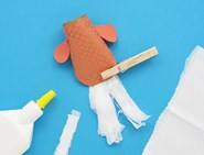 toilet roll craft fish 05