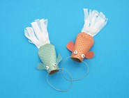 toilet roll craft fish 07